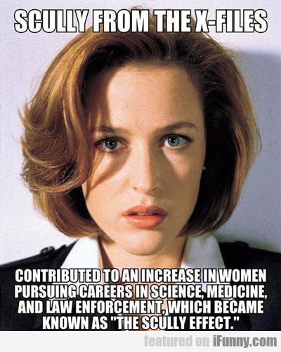 Scully From The X-files...