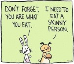 Don't Forget, You Are What You Eat