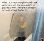 When You're Playing Hide And Seek..