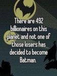 There Are 492 Billionaires...