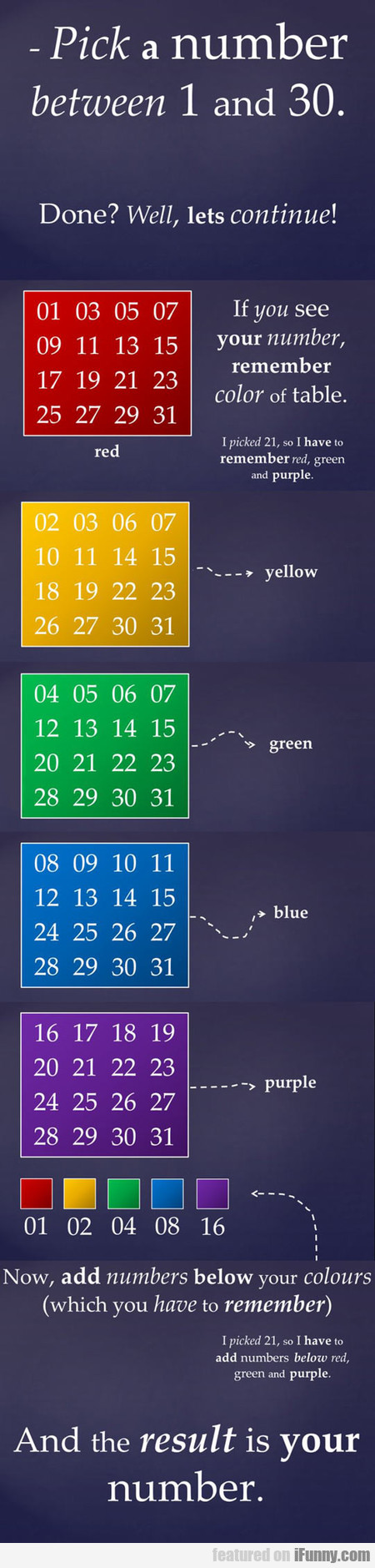 pick a number between 1 and 30