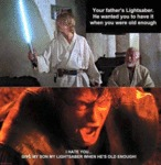 Your Father's Lightsaber...