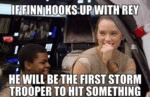 If Finn Hooks Up With Rey...