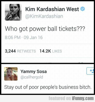 Who Got Powerball Tickets?