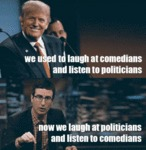 We Used To Laugh At Comedians...