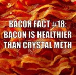 Bacon Fact 18 Bacon Is Healthier