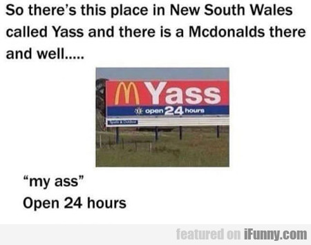 So There's This Place In New South Wales...