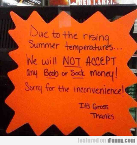 Due To The Rising Summer Temperatures