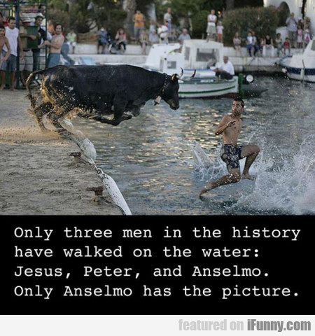 only three men in the history have walked