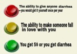 The Ability To Give Anyone Diarrhea...
