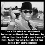 The Kgb Tried To Black Mail Indonesian President