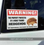 Warning This Propoert Protected By A Highly