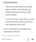 I Went To An Arab American
