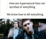 How Are Supernatural Fans Not Terrified Of Everyth