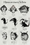 If Pokemon Were Drawn By Tim Burton...