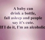 A Baby Can Drink A Bottle...
