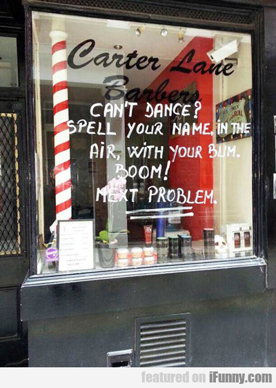 Can't Dance? Spell Your Name With Your Bum...