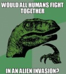 Would All Humans Fight Together?