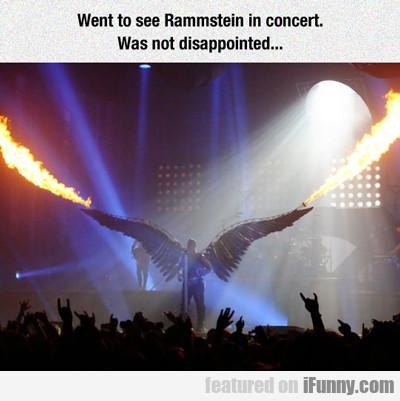 Went To See Rammstein In Concert...
