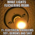 What Lights Flickering Means...