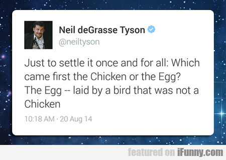 Neil Degrasse Tyson: Case Closed