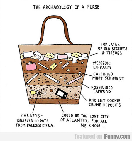 The Archaeology Of A Purse