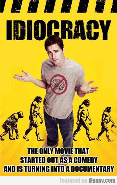 The Only Movie That Started Out As A Comedy...