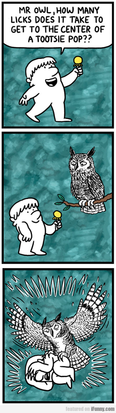Mr Owl, How Many Licks Does It Take To...