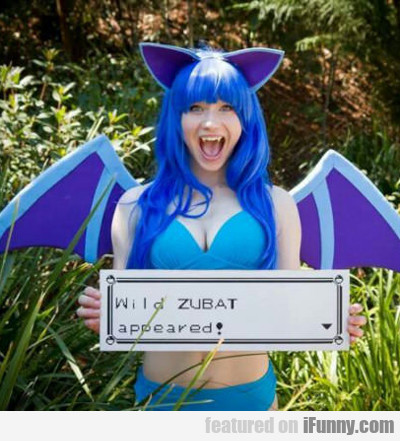 wild zubat appeared...