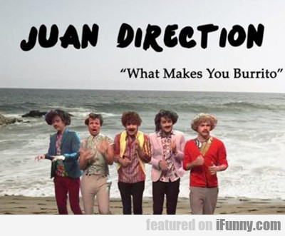Juan Direction... What Makes You Burrito...
