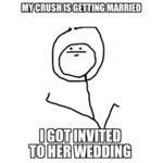My Crush Is Getting Married...