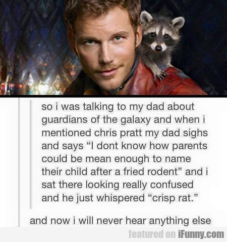 so i was talking to my dad about guardians...