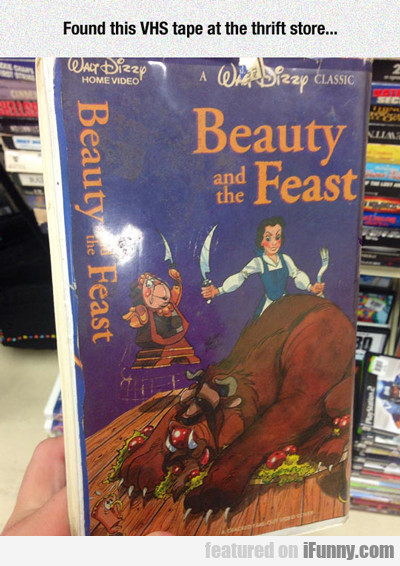 Found This Vhs Tape At The Thrift Store...