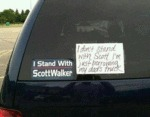 I Stand With Scott Walker...