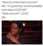 About To Chek Bank Account