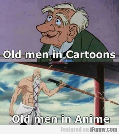 Old Men In Cartoons...