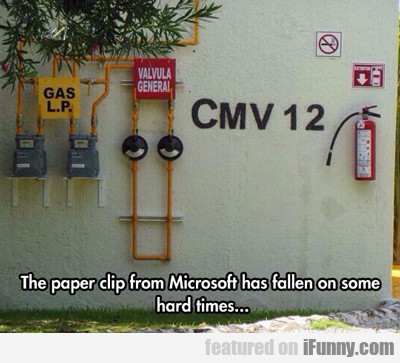 The Paper Clip From Microsoft Has...