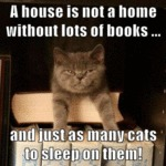 A House Is Not A Home Without Lots Of Books