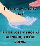 Life Is Not A Fairy Tale If You Lose A Shoe