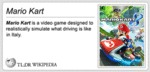 Mario Kart Is A Video Game Designed To...