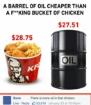 A Barrel Of Oil...