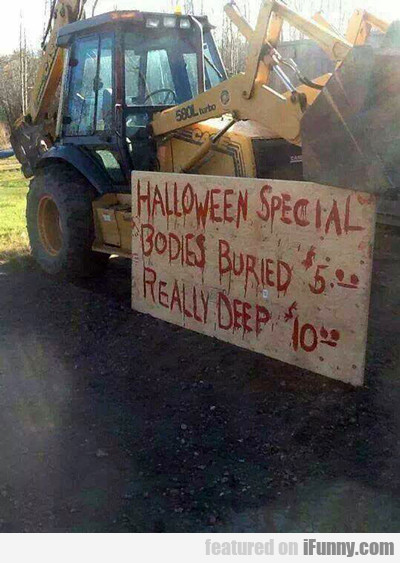 Halloween Special... Bodies Buried...