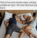 This Is How Real Couples Sleep...