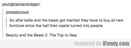 So After Belle And The Beast