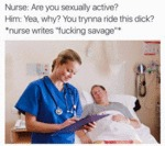 Nurse: Are You Sexually Active?