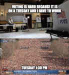 Voting Is Hard Because...