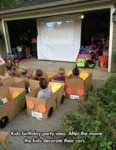 Kids Birthdat Party Idea After The Movie