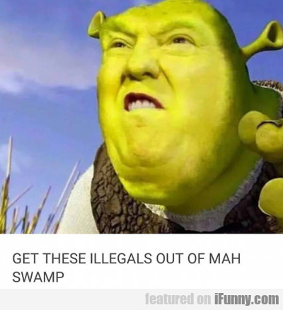 Get These Illegals Out Of Mah Swamp...