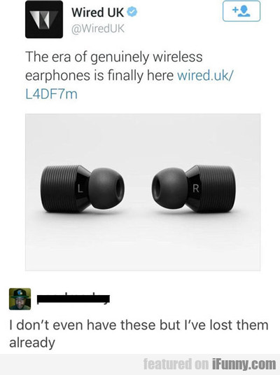 The Era Of Genuinely Wireless Headphones...
