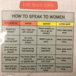 How To Speak To Women...